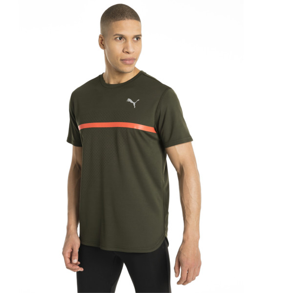 ラン グラフィック Tシャツ, Forest Night-Puma BlackPrint, large-JPN