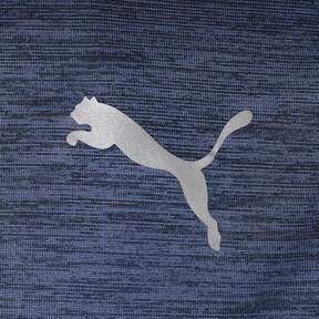 Thumbnail 3 of ラン ヘザー Tシャツ, Peacoat Heather, medium-JPN