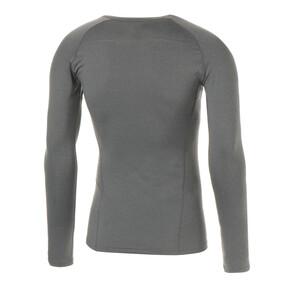 Thumbnail 2 of テック ライト LS ヘザー Tシャツ (長袖), Medium Gray Heather, medium-JPN