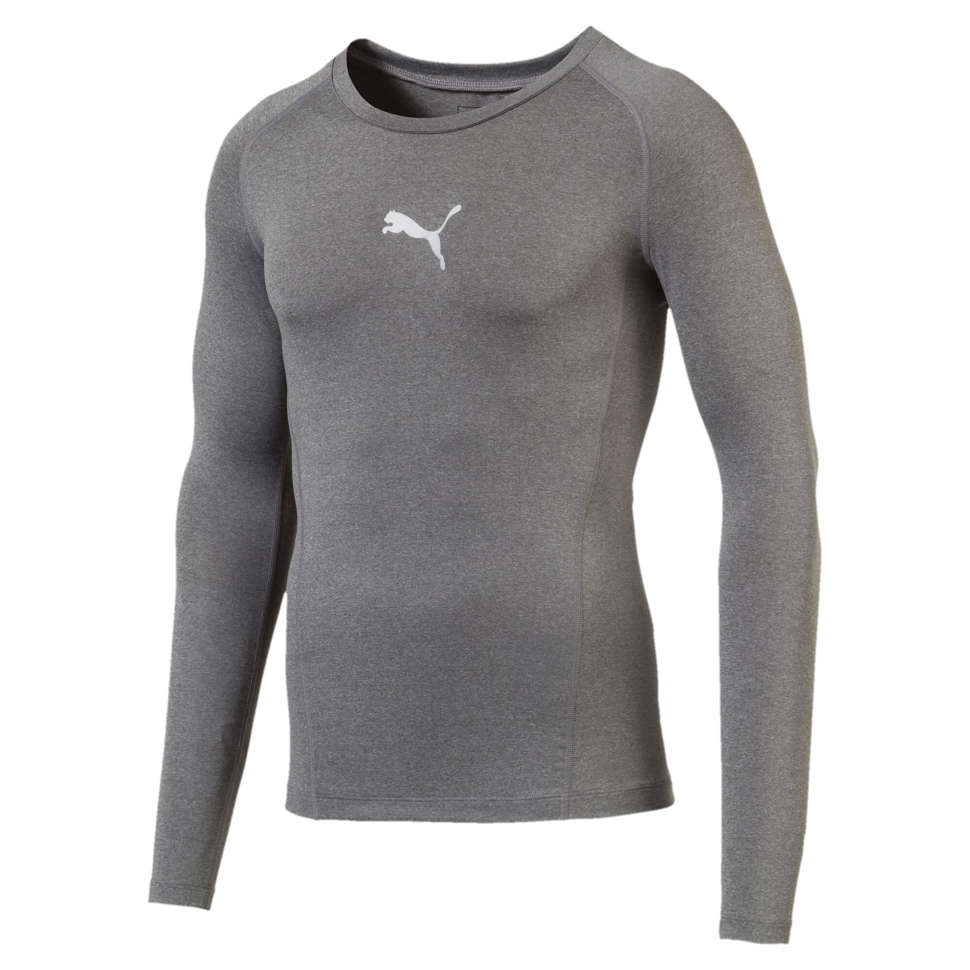 【プーマ公式通販】 プーマ テック ライト LS ヘザー Tシャツ (長袖) メンズ Medium Gray Heather  PUMA.com