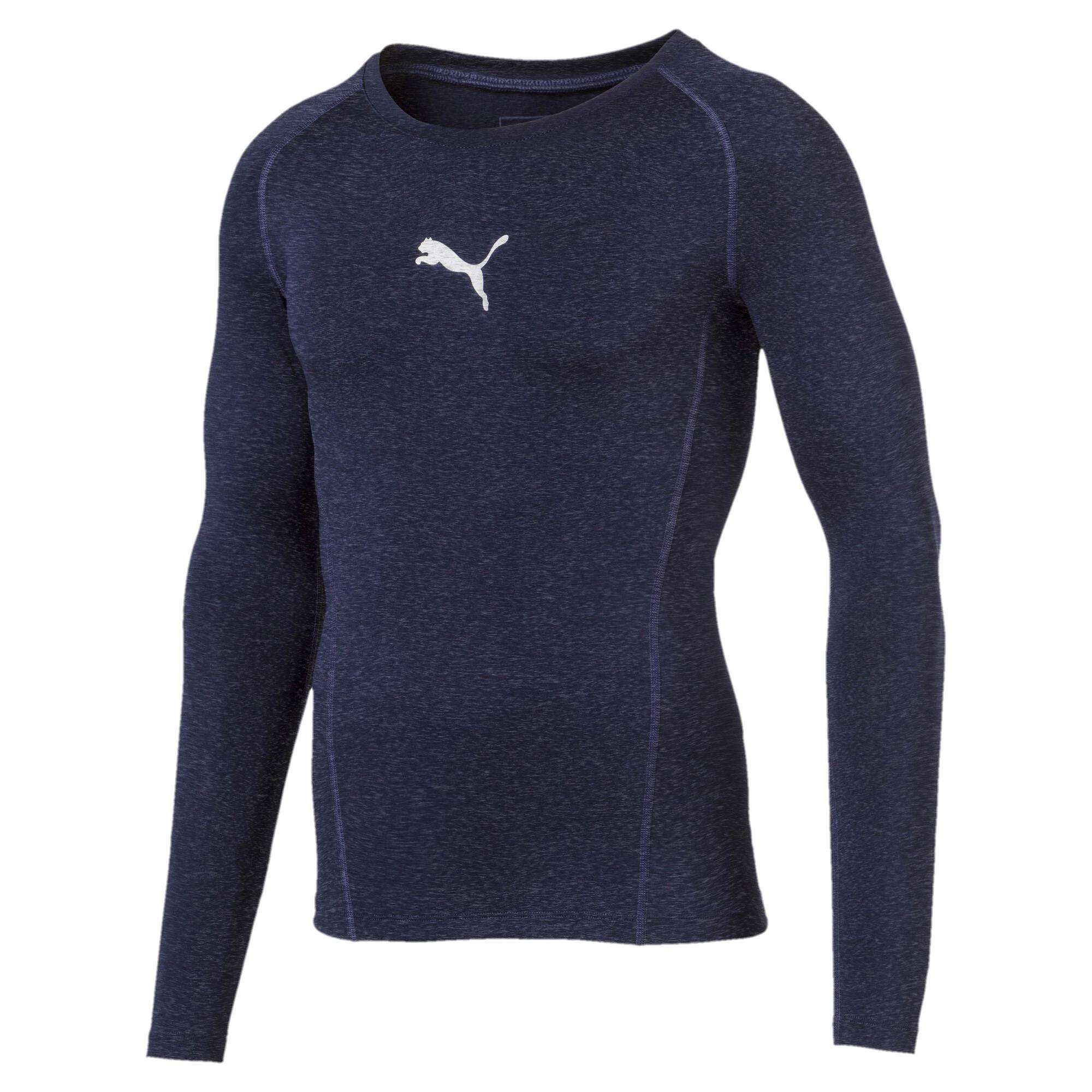【プーマ公式通販】 プーマ テック ライト LS ヘザー Tシャツ (長袖) メンズ Peacoat Heather  PUMA.com