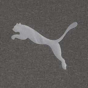 Thumbnail 3 of テック ライト LSモックネック ヘザー Tシャツ (長袖), Medium Gray Heather, medium-JPN