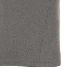 Thumbnail 5 of テック ライト LSモックネック ヘザー Tシャツ (長袖), Medium Gray Heather, medium-JPN