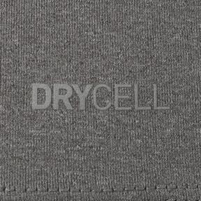 Thumbnail 6 of テック ライト LSモックネック ヘザー Tシャツ (長袖), Medium Gray Heather, medium-JPN