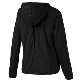 Thumbnail 5 of Ignite Woven Hooded Women's Running Track Jacket, Puma Black, medium