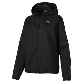 Thumbnail 4 of Ignite Women's Hooded Wind Jacket, Puma Black, medium