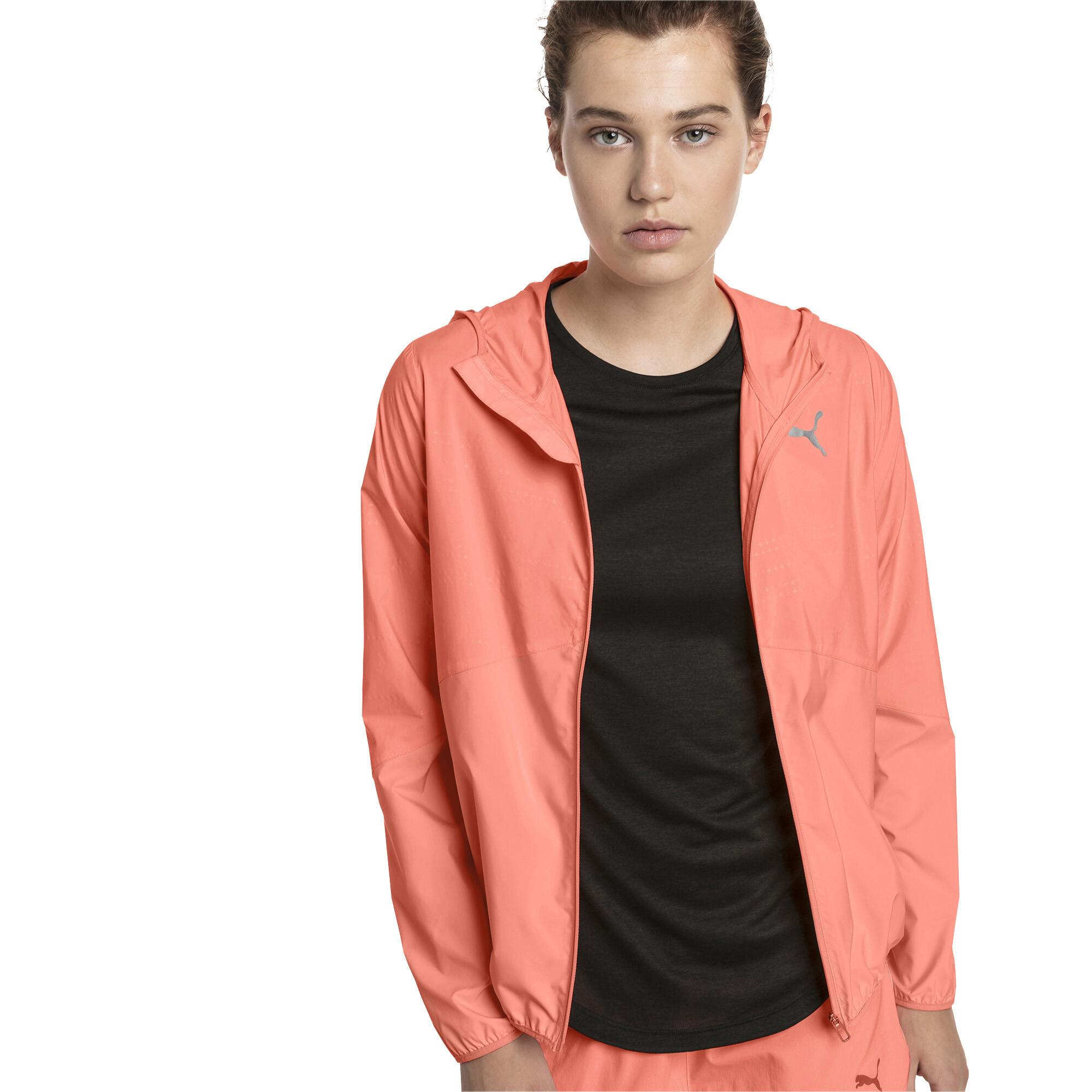 Image Puma Ignite Woven Hooded Women's Running Track Jacket #1