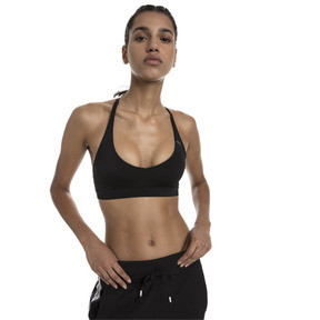 Thumbnail 1 of SpotLite Women's Low Impact Sports Bra, Puma Black, medium