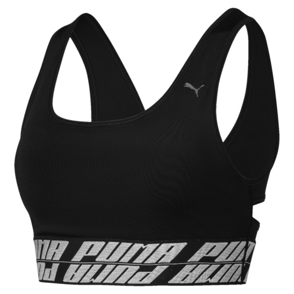 DeLite Women's Bra, Puma Black, large