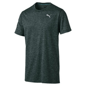 Thumbnail 4 of Ignite Heather Men's Tee, Ponderosa Pine Heather, medium