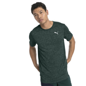Thumbnail 1 of Ignite Heather Men's Tee, Ponderosa Pine Heather, medium