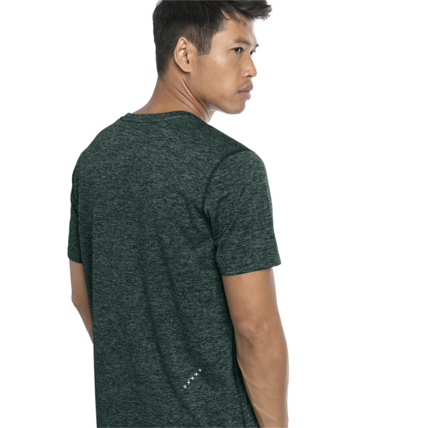 Ignite Heather Men's Tee, Ponderosa Pine Heather, large