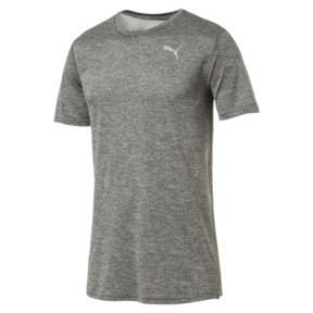 Thumbnail 4 of Ignite Heather Men's Tee, Medium Gray Heather, medium