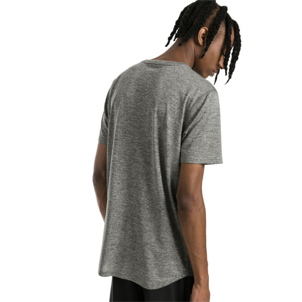 Ignite Heather Men's Tee, Medium Gray Heather, large