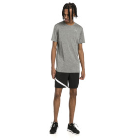 Thumbnail 3 of Ignite Heather Men's Tee, Medium Gray Heather, medium