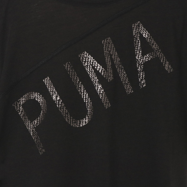 HOLIDAY DRAPEY TEE, Puma Black, large-JPN