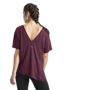 Thumbnail 3 of Holiday Drapey Women's Tee, Fig, medium