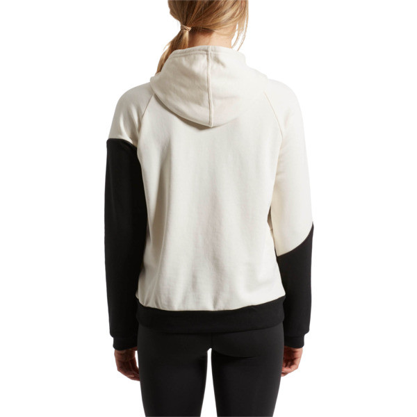 Holiday Pullover Hoodie, Whisper White-Puma Black, large