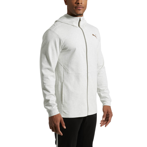 Energy Desert Full-Zip Men's Jacket, Whisper White Heather, large