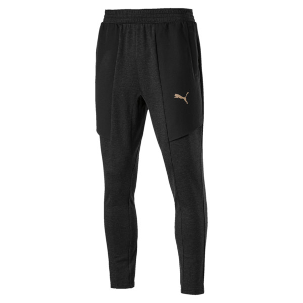 ENERGY DESERT TAPARED PANT, Puma Black Heather, large-JPN