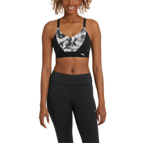 Thumbnail 1 of Graphic Logo Bra M, Puma Black, medium