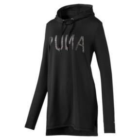 Miniatura 1 de Vestido con capucha Holiday, Puma Black, mediano