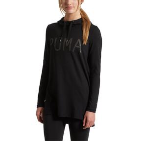 Miniatura 2 de Vestido con capucha Holiday, Puma Black, mediano