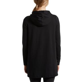 Miniatura 3 de Vestido con capucha Holiday, Puma Black, mediano