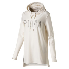 Thumbnail 1 of Holiday Hooded Dress, Whisper White, medium
