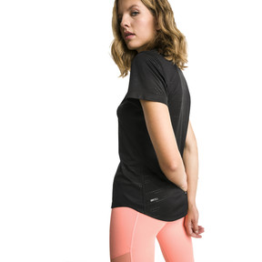 Thumbnail 2 of IGNITE Graphic Women's Running Tee, Puma Black, medium