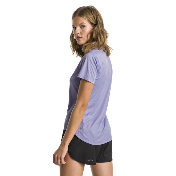 IGNITE Graphic Women's Running Tee, Sweet Lavender, large