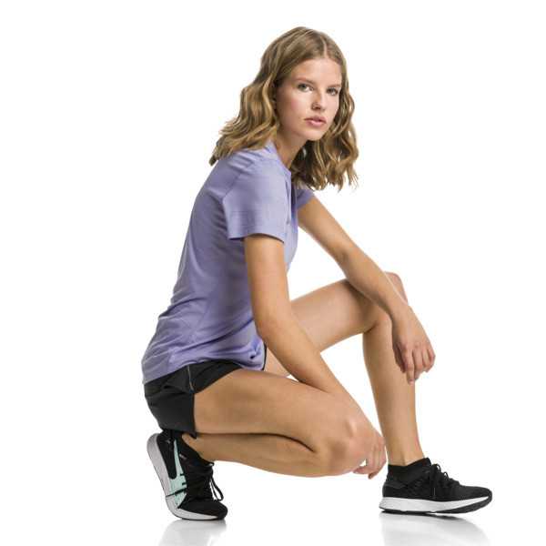IGNITE Graphic Women's Running Tee, Sweet Lavender, large