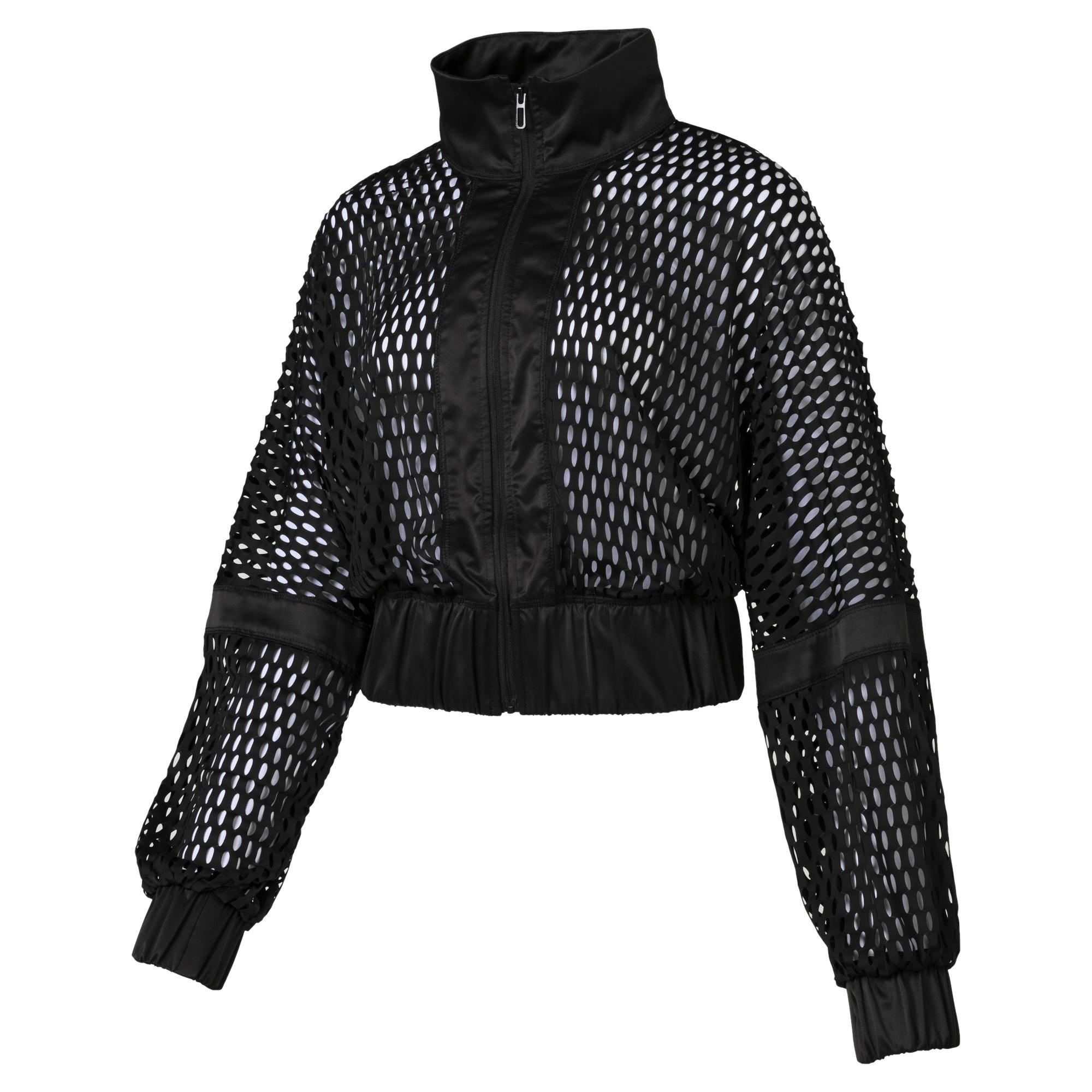 Image Puma On the Brink Women's Knit Jacket #1