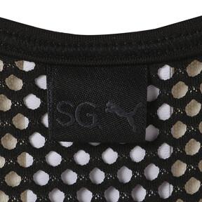 Thumbnail 6 of SG x PUMA WOMEN'S BRA, Puma Black, medium-JPN