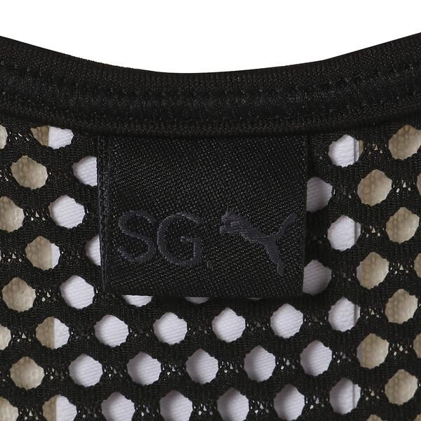 SG x PUMA WOMEN'S BRA, Puma Black, large-JPN