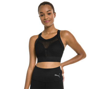 Thumbnail 1 of PUMA x SELENA GOMEZ Women's Training Bra, Puma Black, medium