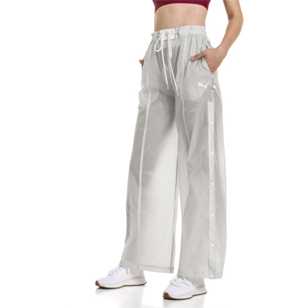 SG x PUMA WOMEN'S TEARAWAY PANTS, Glacier Gray, large-JPN