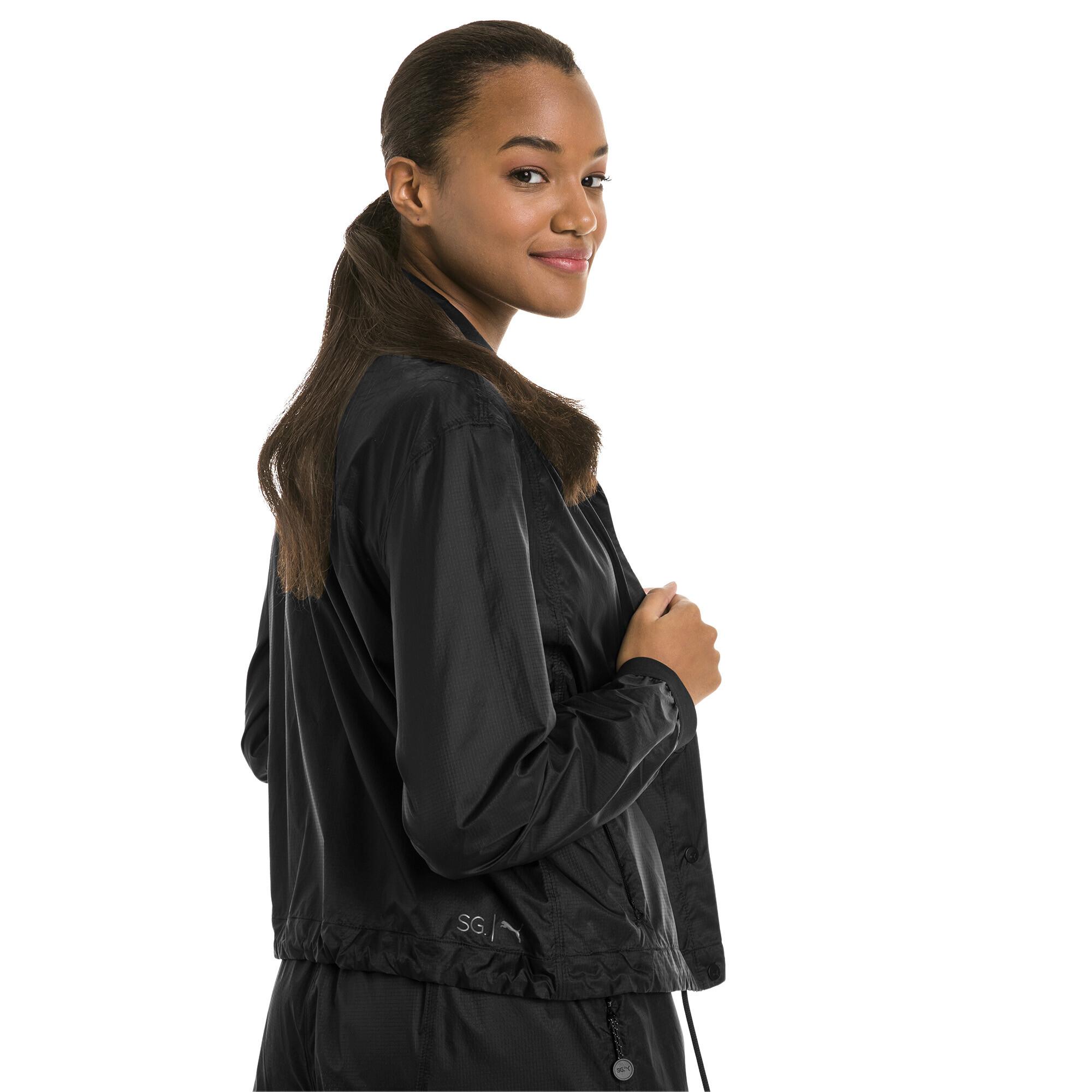 Image Puma PUMA x SELENA GOMEZ Woven Women's Coaches Training Jacket #2