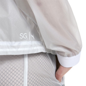Thumbnail 6 of SG x PUMA Coaches Jacket, Glacier Gray, medium