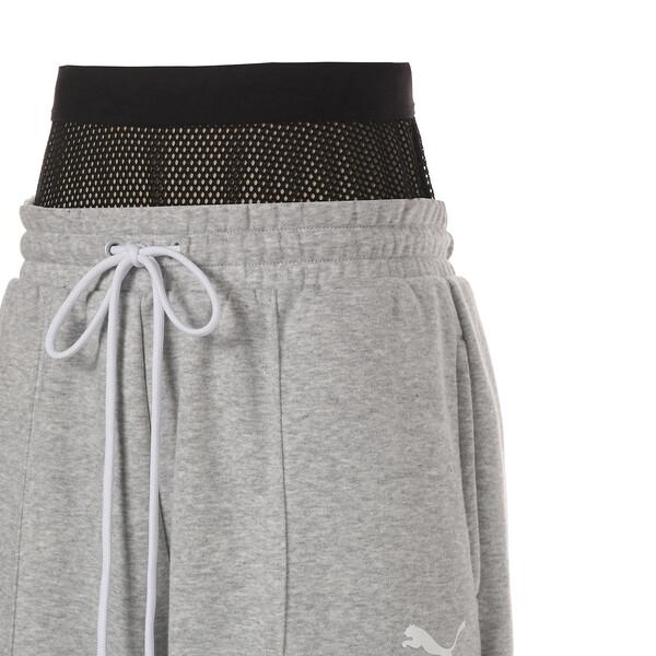 SG x PUMA WOMEN'S SWEAT PANTS, Light Gray Heather, large-JPN