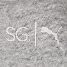 Thumbnail 10 of SG x PUMA WOMEN'S SWEAT PANTS, Light Gray Heather, medium-JPN