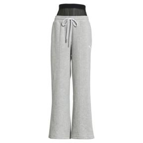 Thumbnail 1 of PUMA x SELENA GOMEZ Damen Strick Sweatpants, Light Gray Heather, medium