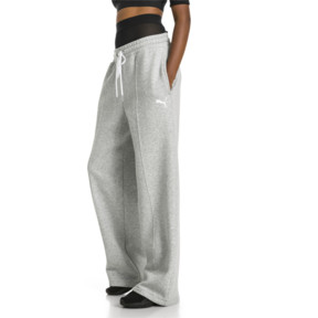 Thumbnail 2 of PUMA x SELENA GOMEZ Damen Strick Sweatpants, Light Gray Heather, medium