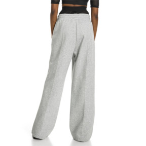 Thumbnail 3 of PUMA x SELENA GOMEZ Damen Strick Sweatpants, Light Gray Heather, medium
