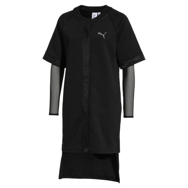 SG x PUMA WOMEN'S DRESS, Puma Black, large-JPN