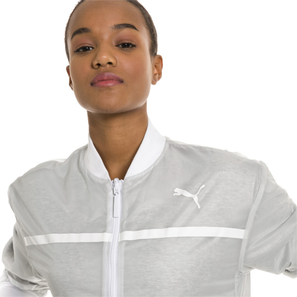 PUMA x SELENA GOMEZ Knitted Women's Training Jacket, Glacier Gray, large