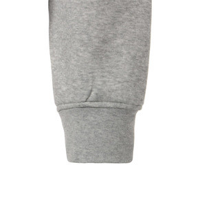 Thumbnail 10 of SG x PUMA WOMEN'S FULL ZIP HOODIE, Light Gray Heather, medium-JPN