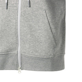 Thumbnail 11 of SG x PUMA WOMEN'S FULL ZIP HOODIE, Light Gray Heather, medium-JPN