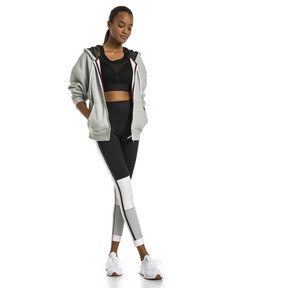 Thumbnail 3 of SG x PUMA WOMEN'S FULL ZIP HOODIE, Light Gray Heather, medium-JPN