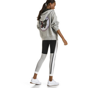 Thumbnail 5 of PUMA x SELENA GOMEZ Women's Training Hoodie, Light Gray Heather, medium